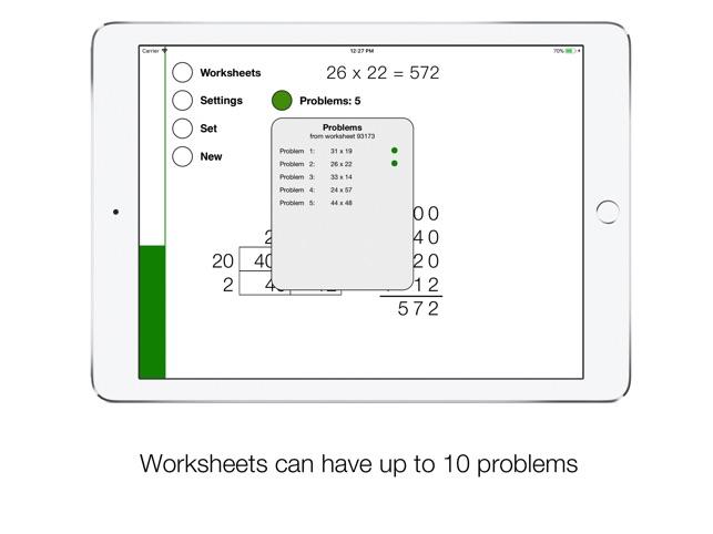 Grid Multiplication Screenshot