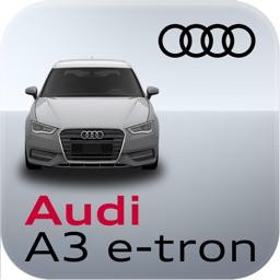 Audi A3 e-tron connect App