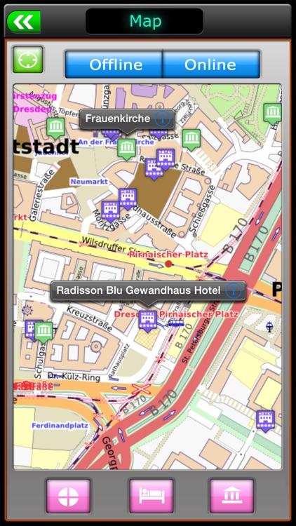 Dresden Offline Map Travel Guide