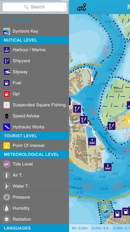 Venice lagoon chart Lite