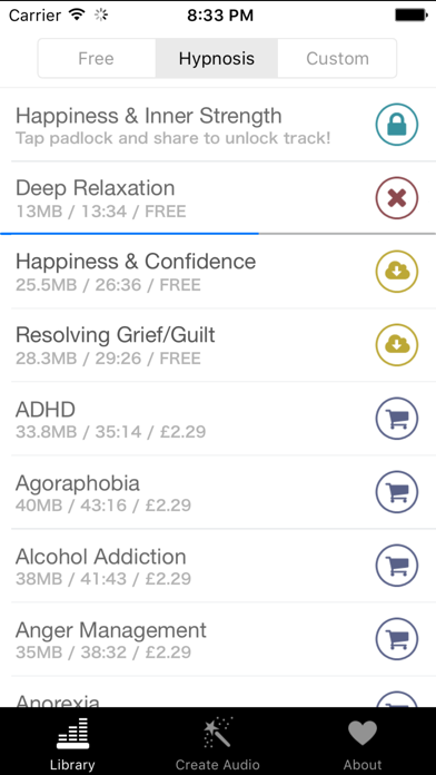 Free Hypnosis screenshot