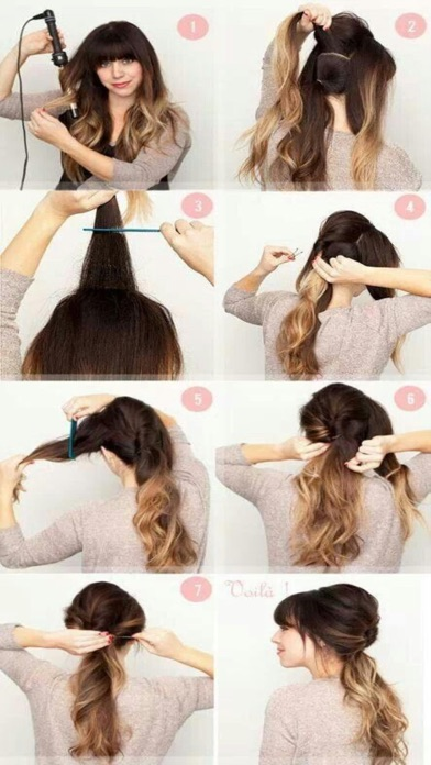 Homemade Hairstyles Step by Step - Great ideas screenshot one