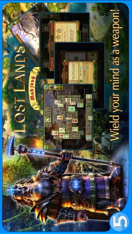 Lost Lands Mahjong Premium screenshot-4