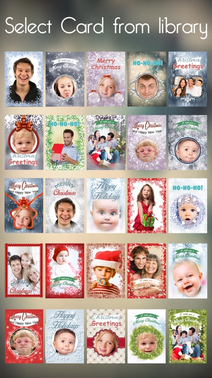we wish you a merry christmas and happy new year personalized christmas cards creator