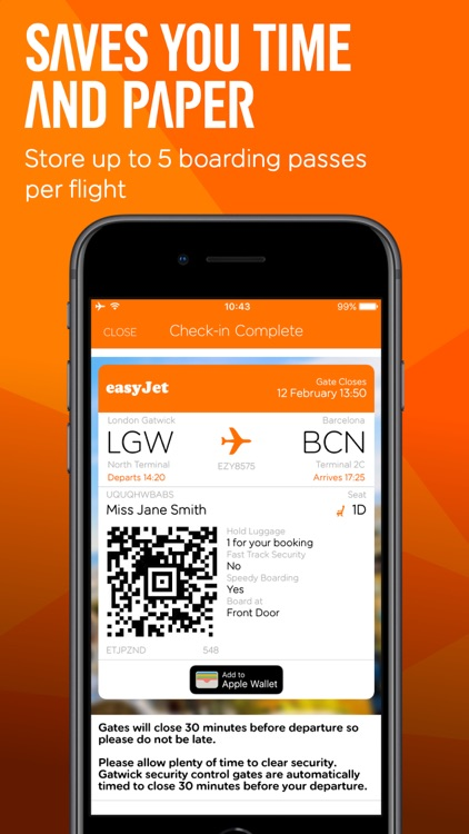 easyJet: Travel App screenshot-3