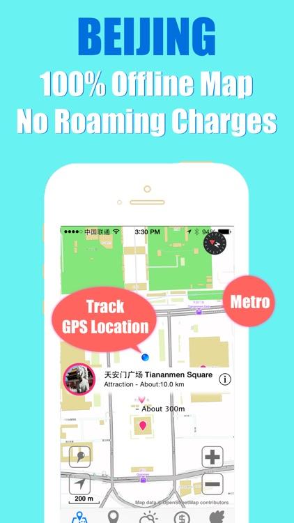 Beijing travel guide and offline city map, Beetletrip Augmented Reality Beijing Metro Train and Walks screenshot-3