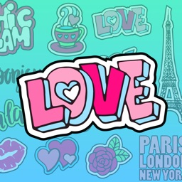 Paris Love - Sticker Pack