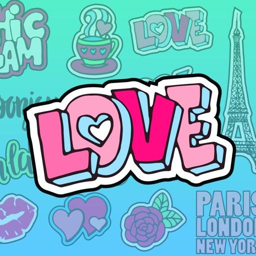 Paris Love - Sticker Pack