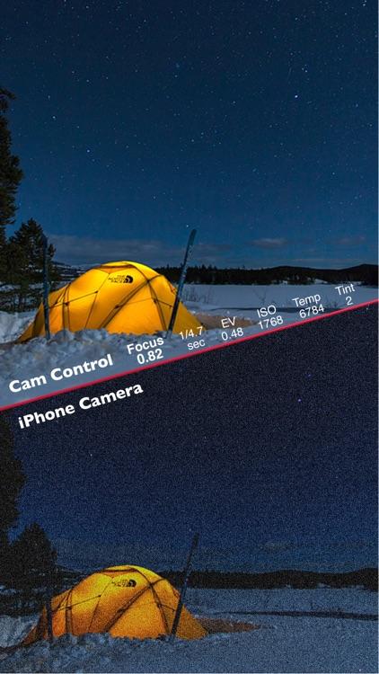 Cam Control - Manually control your camera screenshot-4