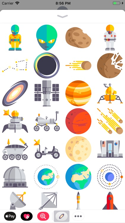 Space Stickers - iMessage
