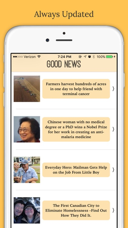Good News: Positive, Inspiring Stories & Headlines