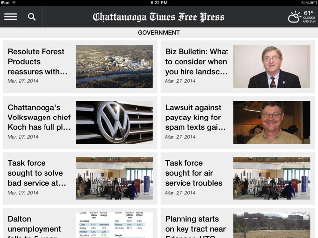 Chattanooga Times Free Press  on the App Store