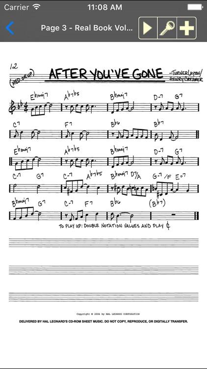 iGigBook Mobile Sheet Music Manager screenshot-4
