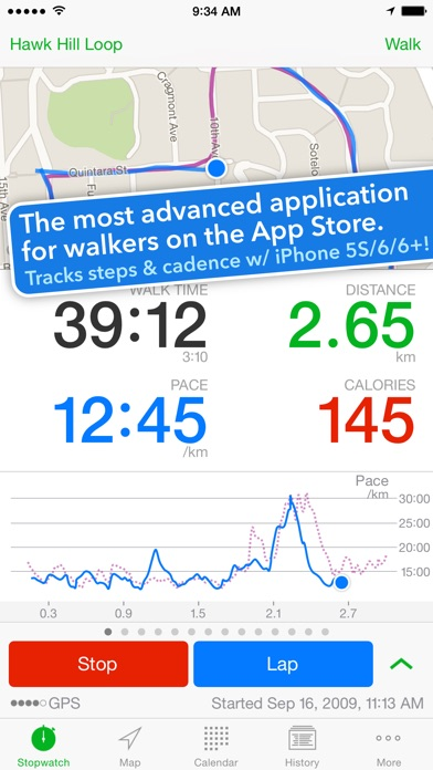 Download Walkmeter Walking & Hiking GPS for Pc