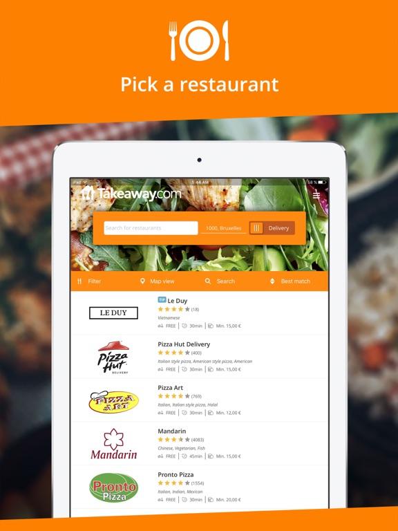 Takeaway.com Скриншоты8