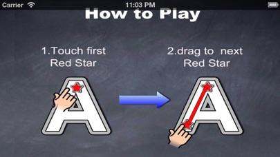QCat -  Write alphabet ABC screenshot one