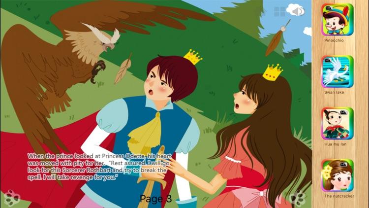 Swan Lake - Interactive Book iBigToy screenshot-3