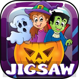 Halloween Jigsaw Puzzles Games For Kids & Toddlers