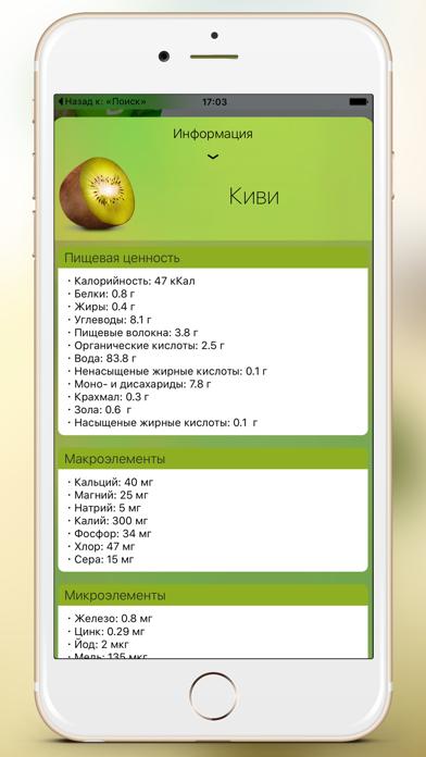 Smoothie. Рецепты и информация о продуктах. Screenshot 5