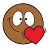 Ochat:iMessageがのための無料ブラックスマイリー&絵文字ステッカー