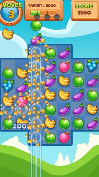 Fruit Crush Swipe Blast screenshot-3