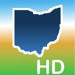 Aqua Map Ohio Lakes GPS HD