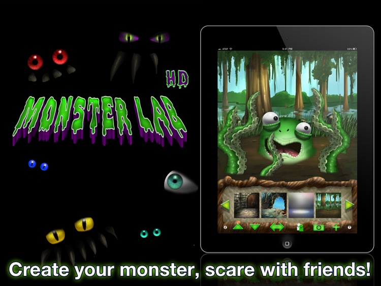 MonsterLab HD screenshot-0