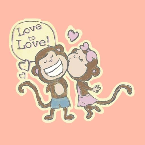 Joey+Joy Falling In Love Stickers