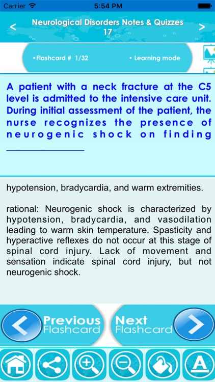 Neurological Disorders Exam Review-Terms & Quizzes