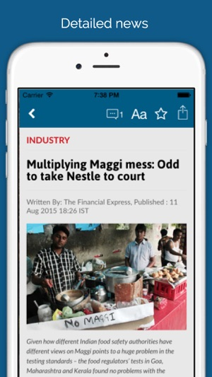 The Financial Express for iPhone on the App Store
