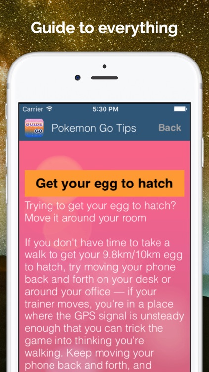 Guide for Pokemon Go Tips & Hints screenshot-2