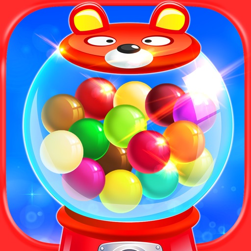 Bubble Gum Candy Maker - Kids Gumball & Chewing Gum Candy Prize Machine Games FREE