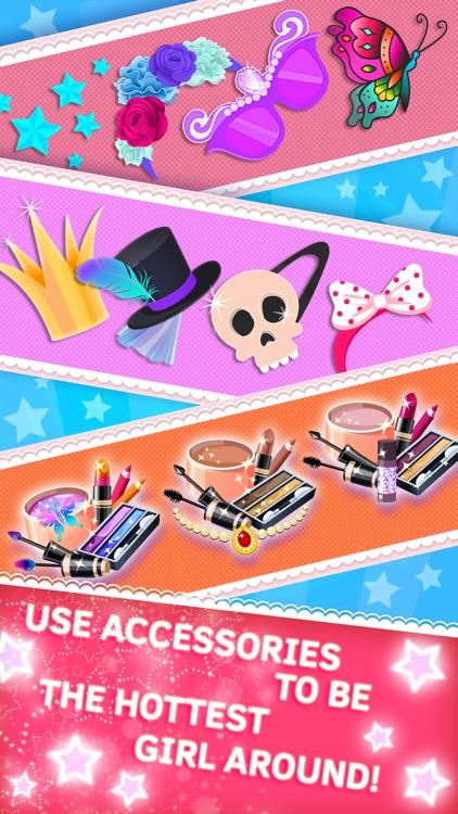 Princess salon and make up games