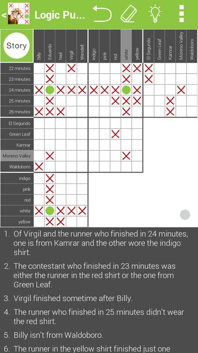 Logic Grid Puzzles: No Ads Screenshot