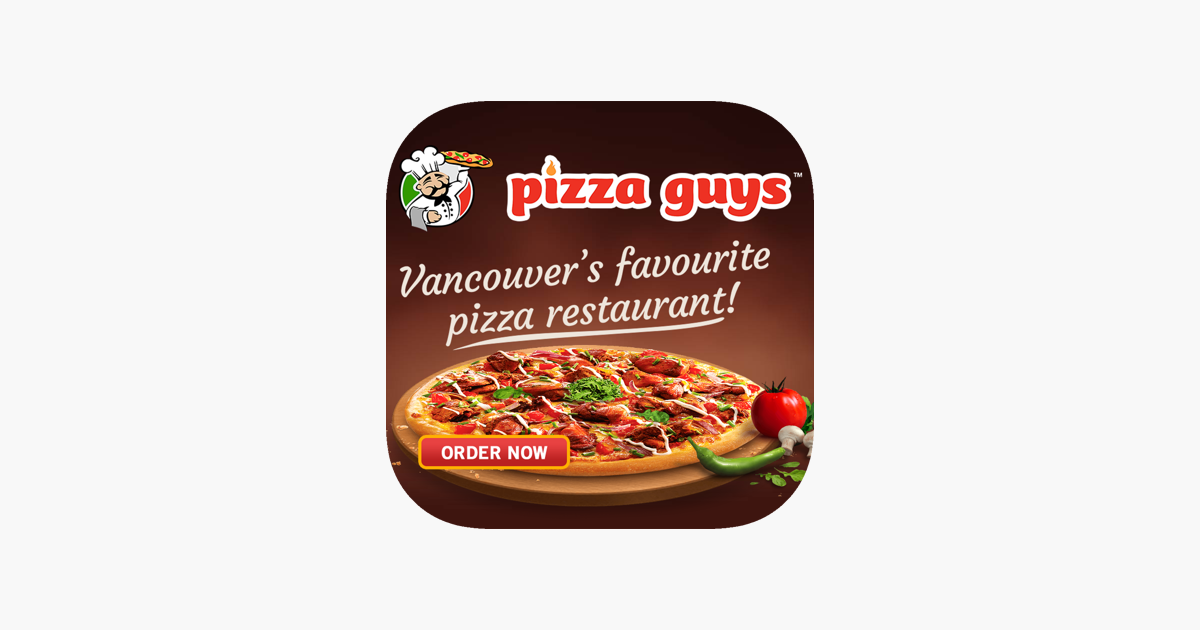Pizza Guys Vancouver On The App Store