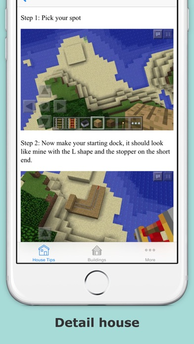 House ideas guide for minecraft - Step by step build your home?のおすすめ画像3