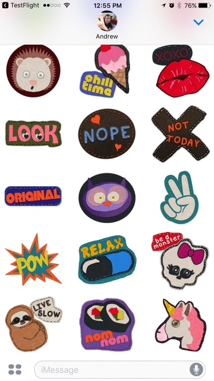 Cute Felt Patch Stickers