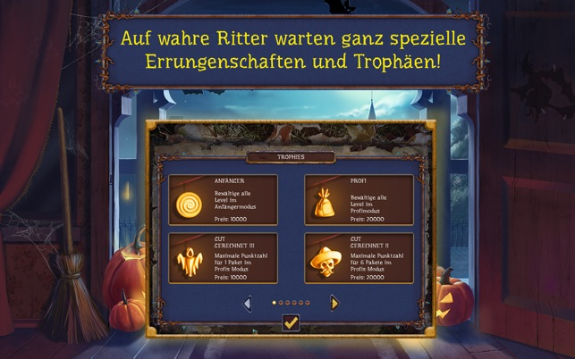 Solitaire game Halloween 2 Screenshot