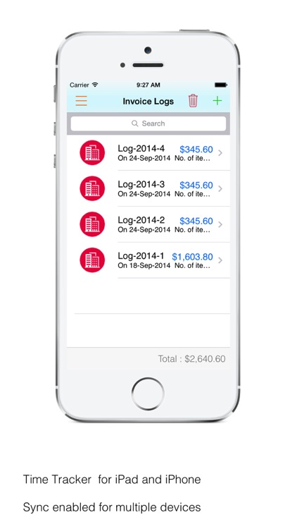 Time Tracker Pro : Log time, business expenses, create and send pdf invoices