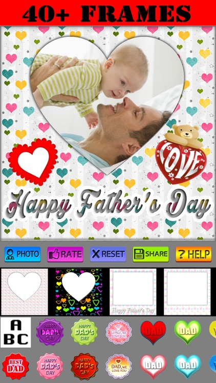 Father's Day Frames and Labels