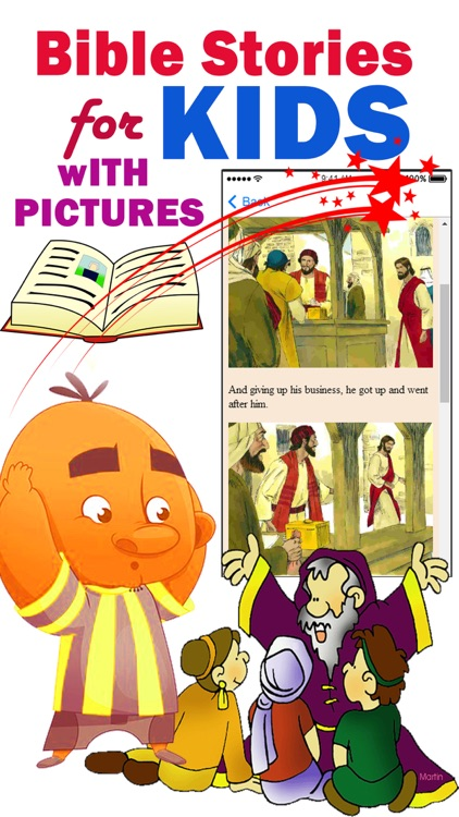 Bible Stories for Kids with Pictures screenshot-3