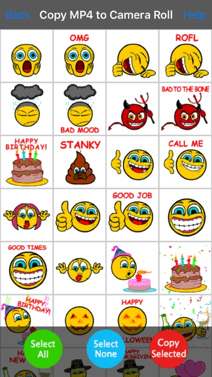 Animated Emoji Emoticons Fun