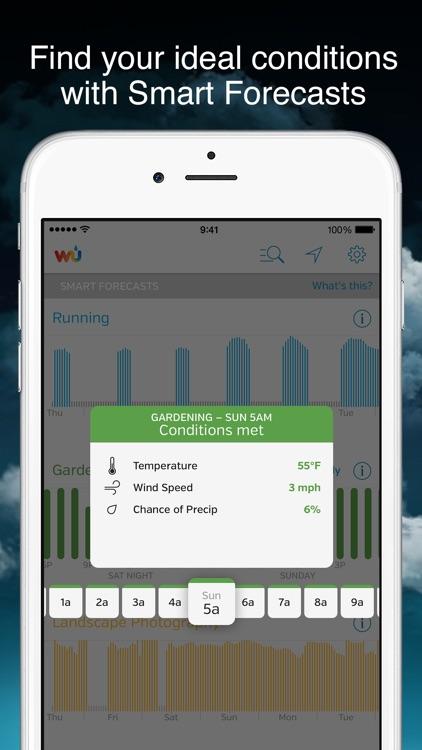 Weather Underground: Custom Forecast & Local Radar screenshot-4