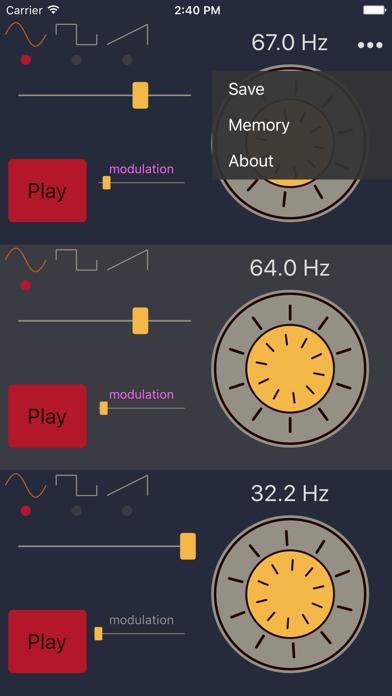 Frequency Sound Generator 周波数音源のおすすめ画像2