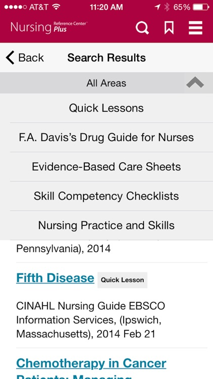 Nursing Reference Center Plus screenshot-3