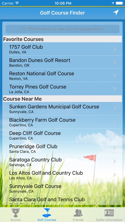 Diablo Golf Handicap Tracker screenshot-3
