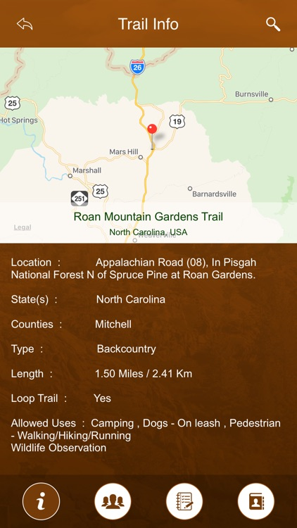 North Carolina Trails screenshot-3