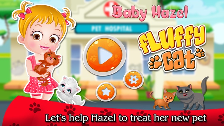 Baby Hazel Fluffy Cat screenshot-4