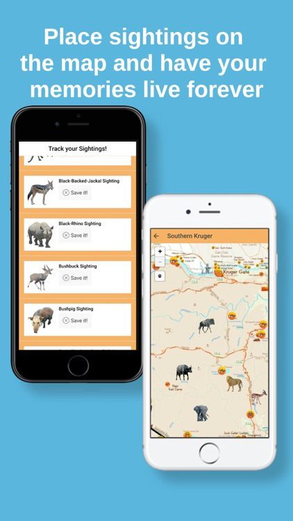 Kruger Map App screenshot-3