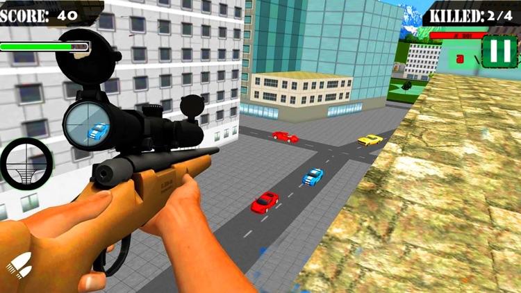 Real City Sniper War FPS Shoot screenshot-3